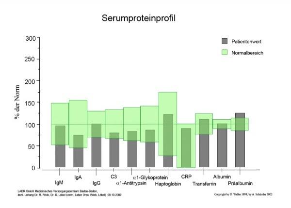 Mikroimmuntherapie Serumproteinprofil - Naturheilkunde