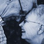 älteres glückliches Ehepaar