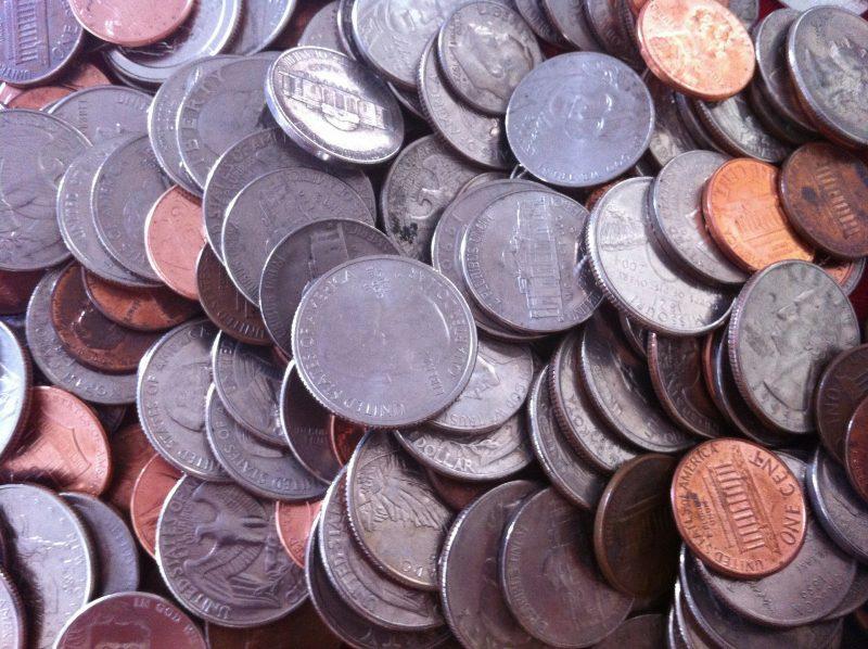 Verschiedenes Münzgeld